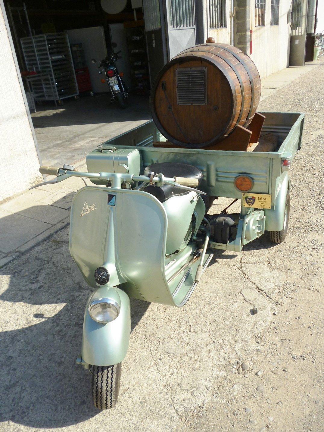 1956 Vespa 150 AB4T Cassone For Sale (picture 5 of 6)
