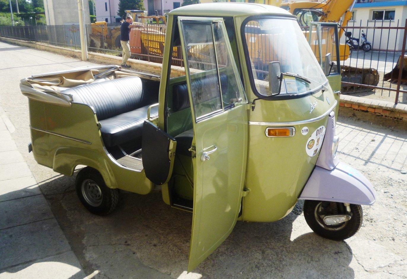 1968 Piaggio Ape D-AD2 For Sale (picture 5 of 6)