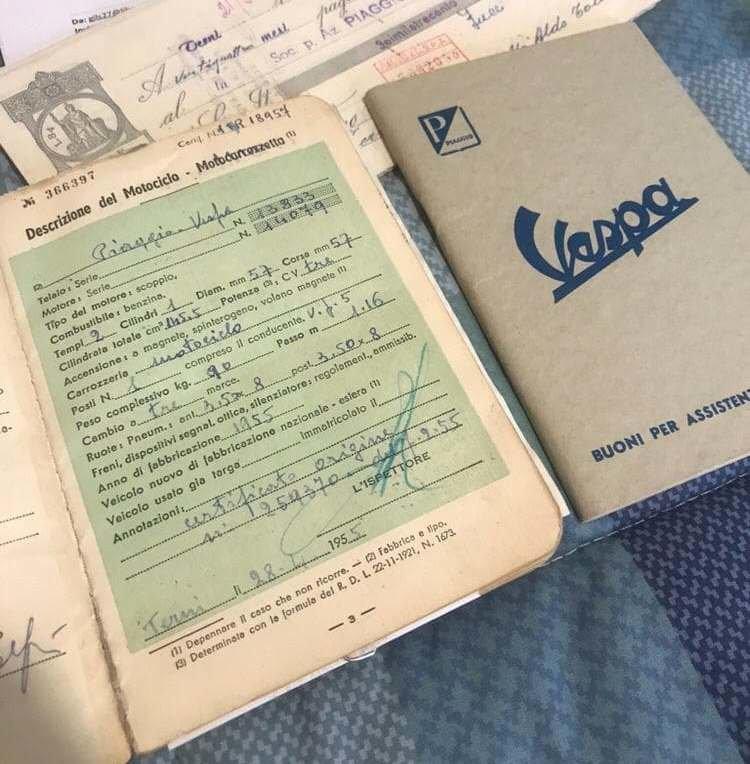 1955 Vespa VL 1 Struzzo For Sale (picture 3 of 6)