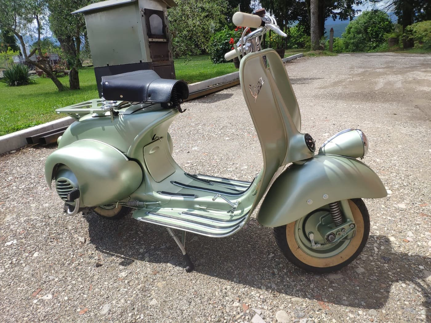 1950 Vespa V 11 T 125 Bacchetta For Sale (picture 2 of 6)
