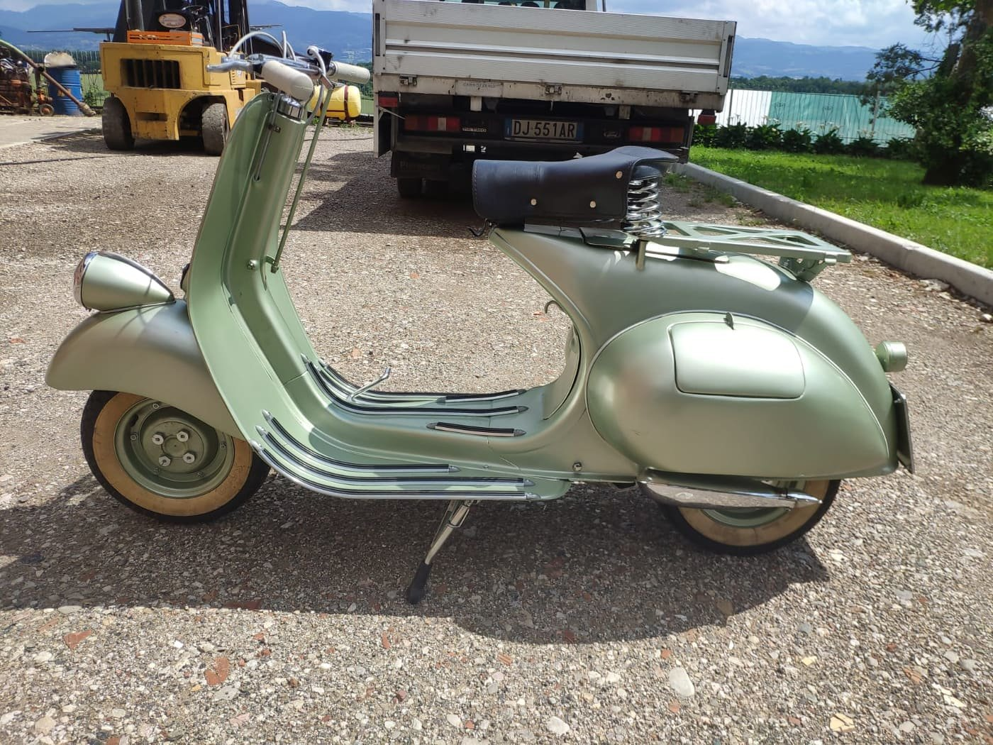 1950 Vespa V 11 T 125 Bacchetta For Sale (picture 3 of 6)