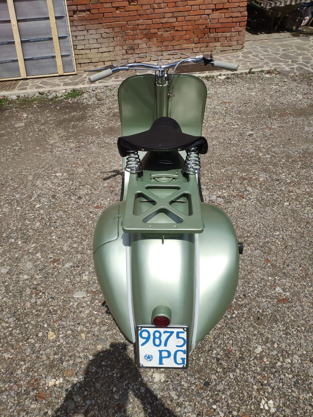 1950 Vespa V 11 T 125 Bacchetta For Sale (picture 5 of 6)