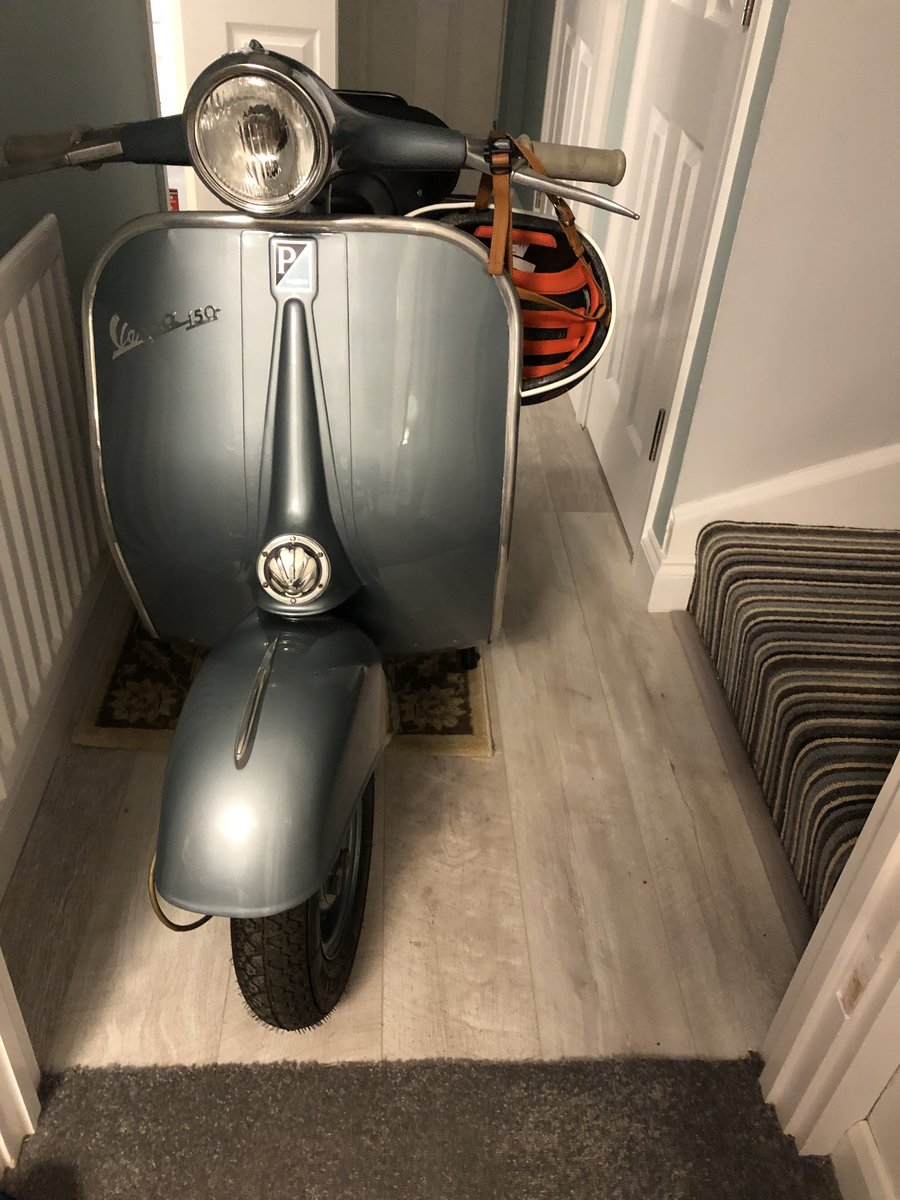 Vespa Piaggio 150 VBA - 1959 - Mint condition For Sale (picture 4 of 4)