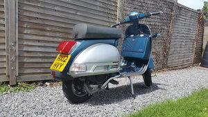LML 200 4T (215cc) Vespa badged
