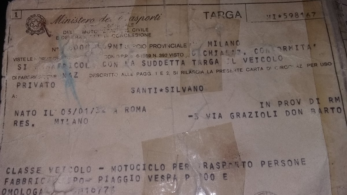 vespa p200e 1980 For Sale (picture 3 of 6)