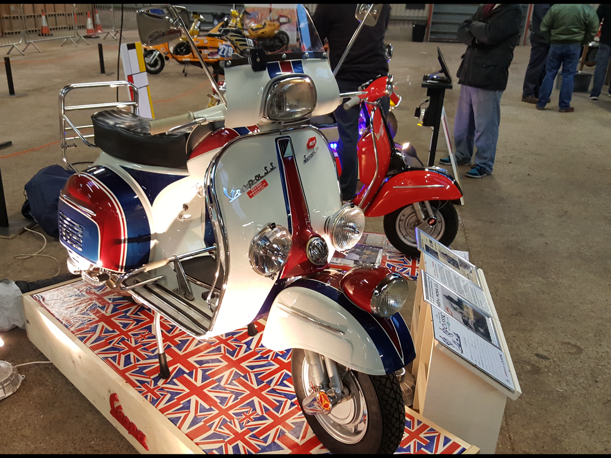 1965 Vespa SS180 Andre Baldet Mona For Sale (picture 1 of 6)