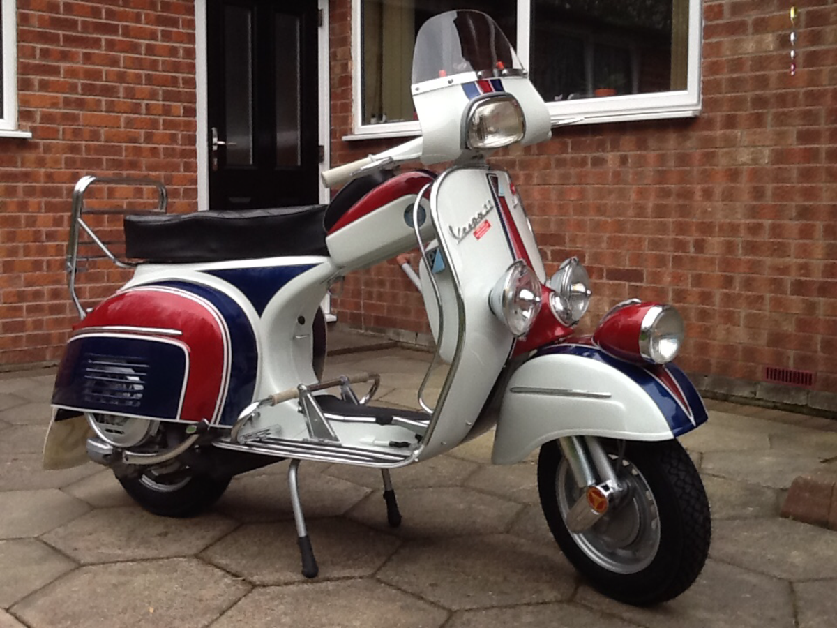 1965 Vespa SS180 Andre Baldet Mona For Sale (picture 4 of 6)