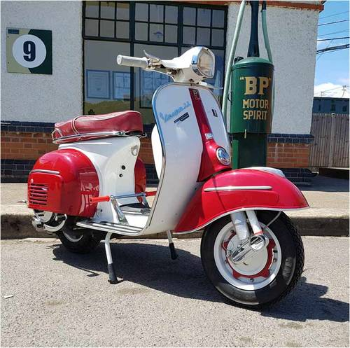 1965 Vespa SS180 - SOLD SOLD | Car And Classic