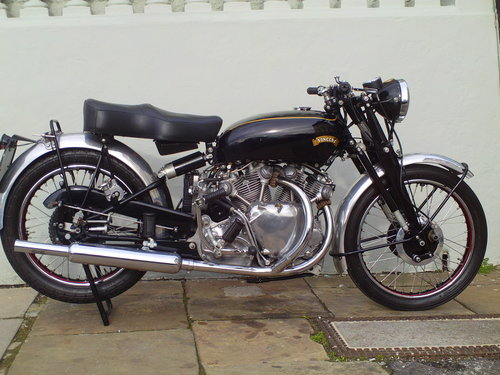 1950 VINCENT RAPIDE SOLD (picture 1 of 6)