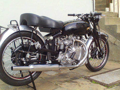 1950 VINCENT RAPIDE SOLD (picture 2 of 6)