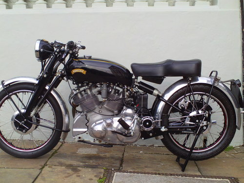 1950 VINCENT RAPIDE SOLD (picture 3 of 6)