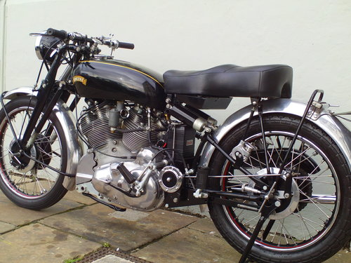 1950 VINCENT RAPIDE SOLD (picture 4 of 6)