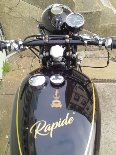 1950 VINCENT RAPIDE SOLD (picture 5 of 6)