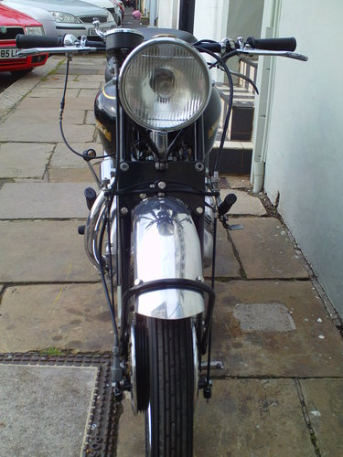 1950 VINCENT RAPIDE SOLD (picture 6 of 6)