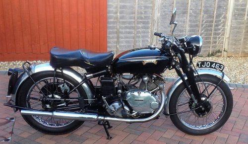 Vincent Comet 1952 For Sale (picture 1 of 6)