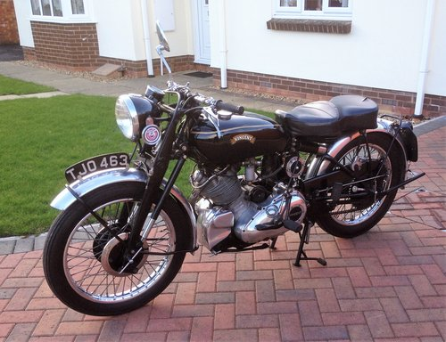Vincent Comet 1952 For Sale (picture 4 of 6)