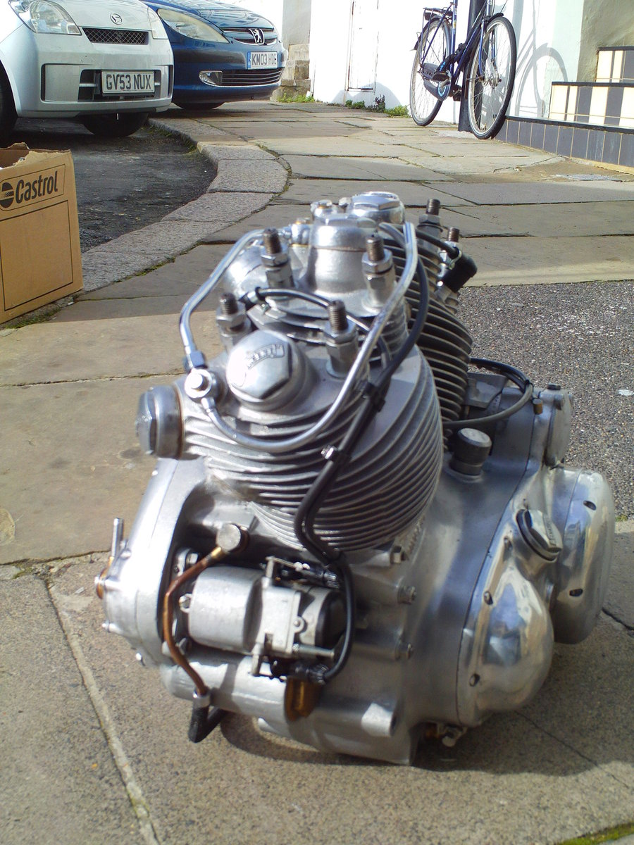 1952 VINCENT RAPIDE  ENGINE For Sale (picture 2 of 6)