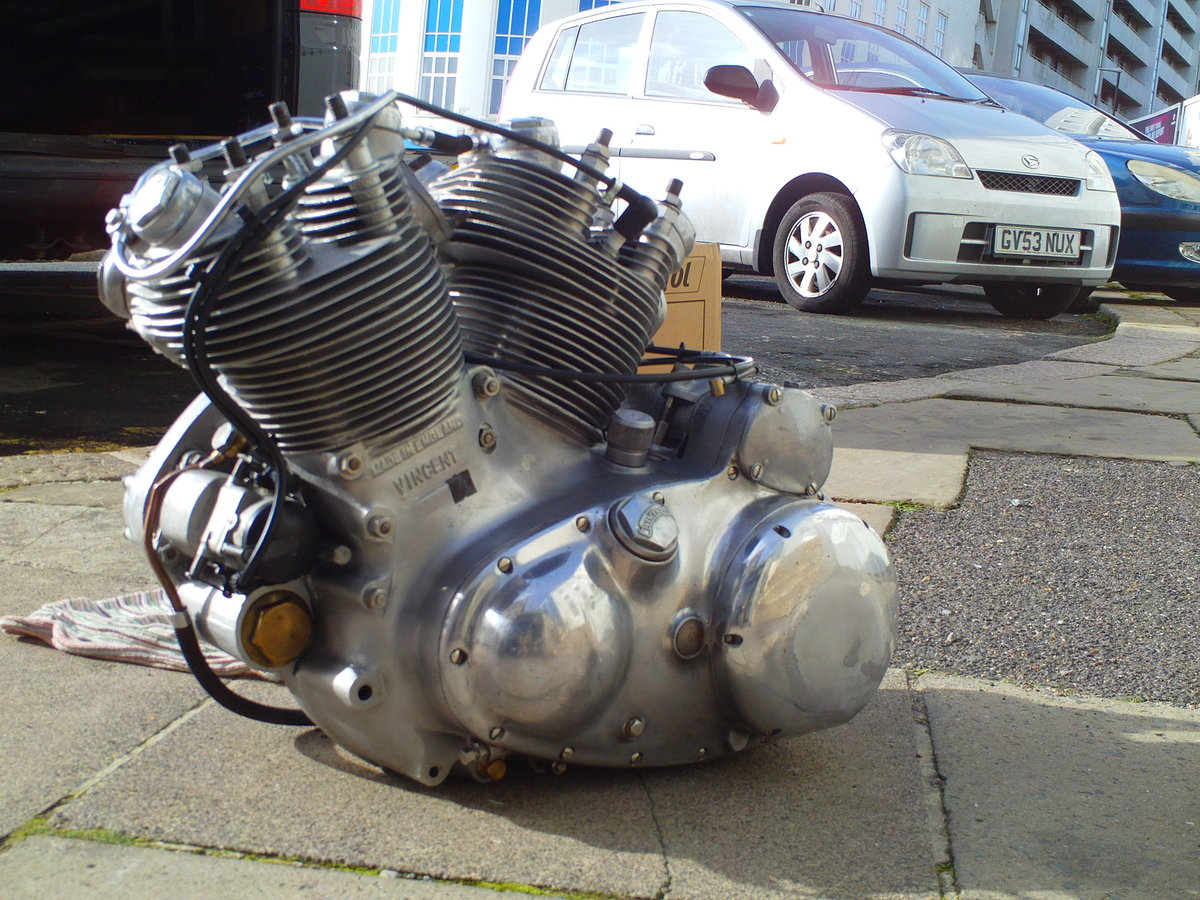 1952 VINCENT RAPIDE  ENGINE For Sale (picture 4 of 6)