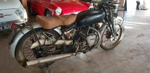 **MARCH AUCTION** 1949 Vincent Rapide C Series SOLD by Auction