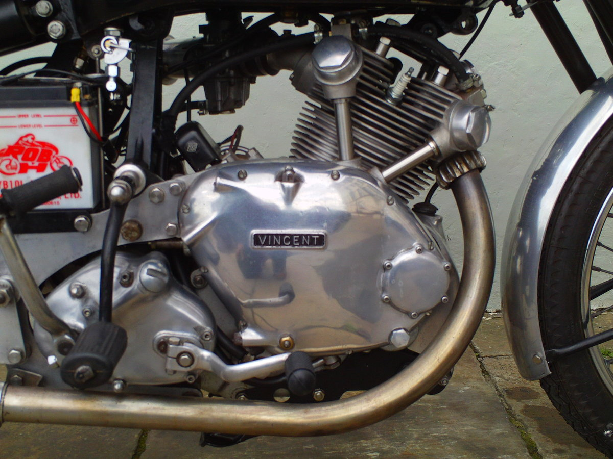 1952 VINCENT COMET ENGINE  SOLD (picture 1 of 6)