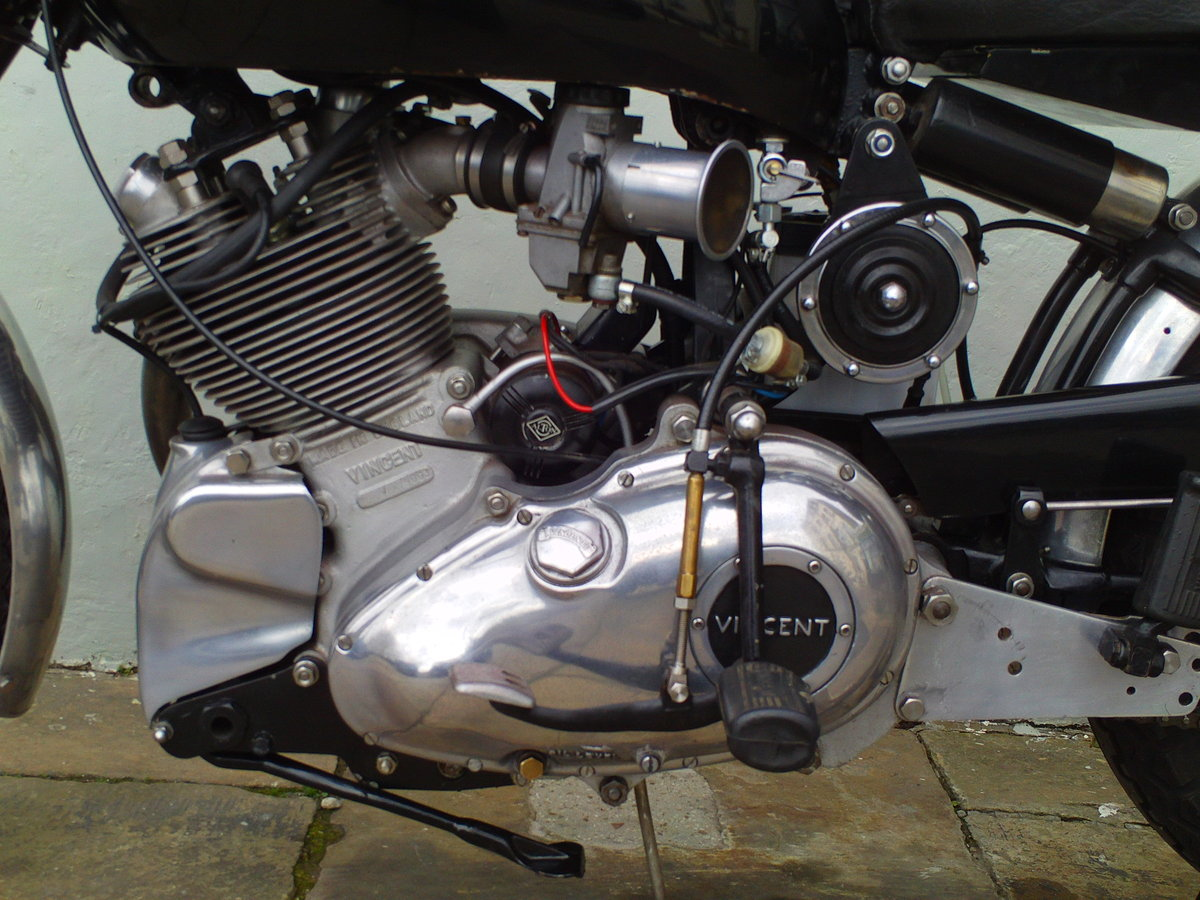 1952 VINCENT COMET ENGINE  SOLD (picture 4 of 6)