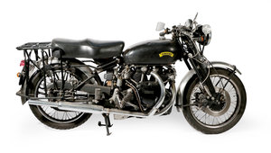 1952 Vincent Black Shadow  For Sale by Auction