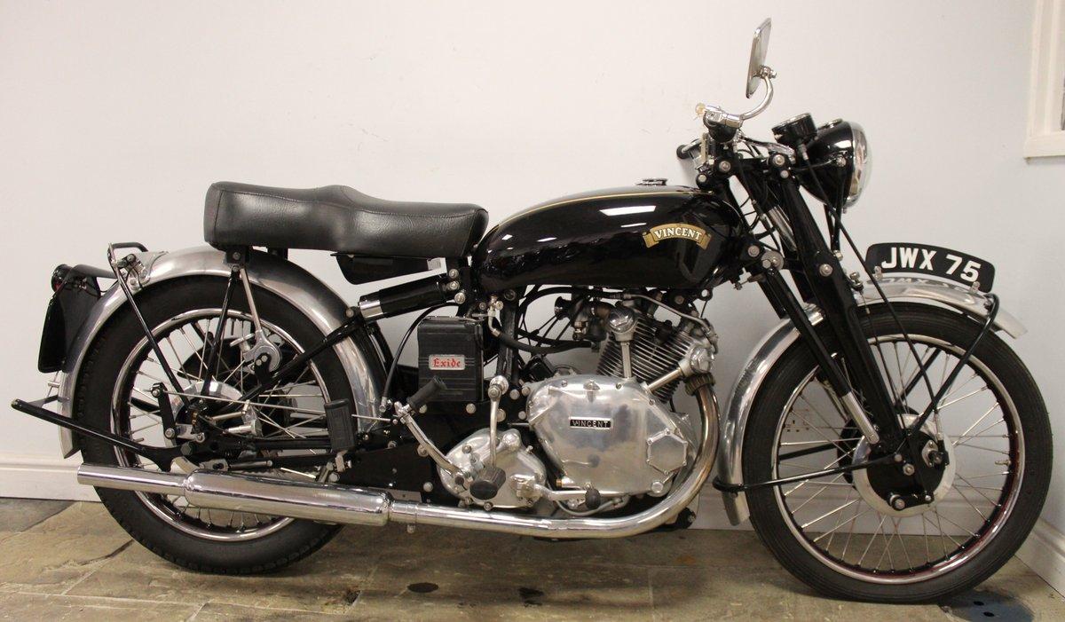 1950 Vincent Comet 500 cc Single Proven Show Winner SOLD (picture 1 of 6)