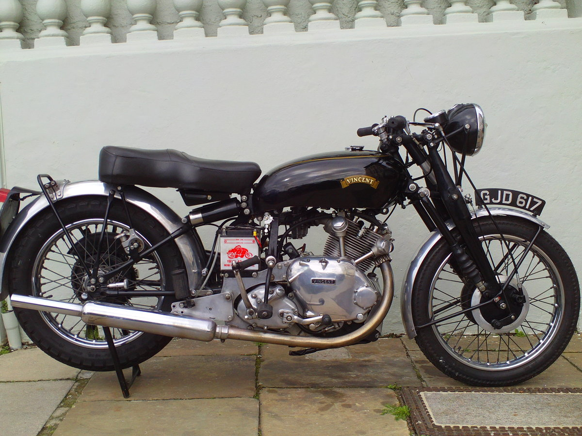 1954 VINCENT RAPIDE COMET SOLD (picture 1 of 6)