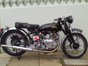 1954 VINCENT RAPIDE COMET SOLD