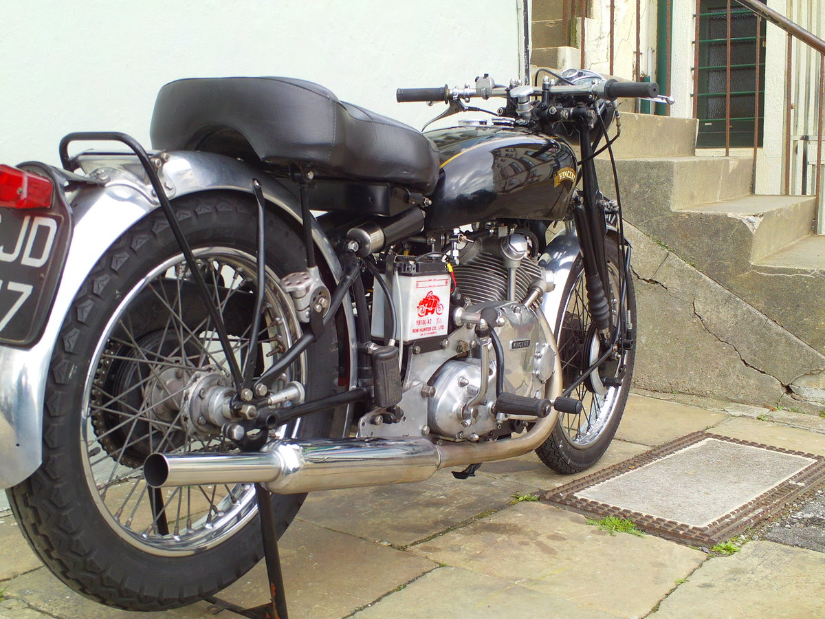 1954 VINCENT RAPIDE COMET SOLD (picture 2 of 6)