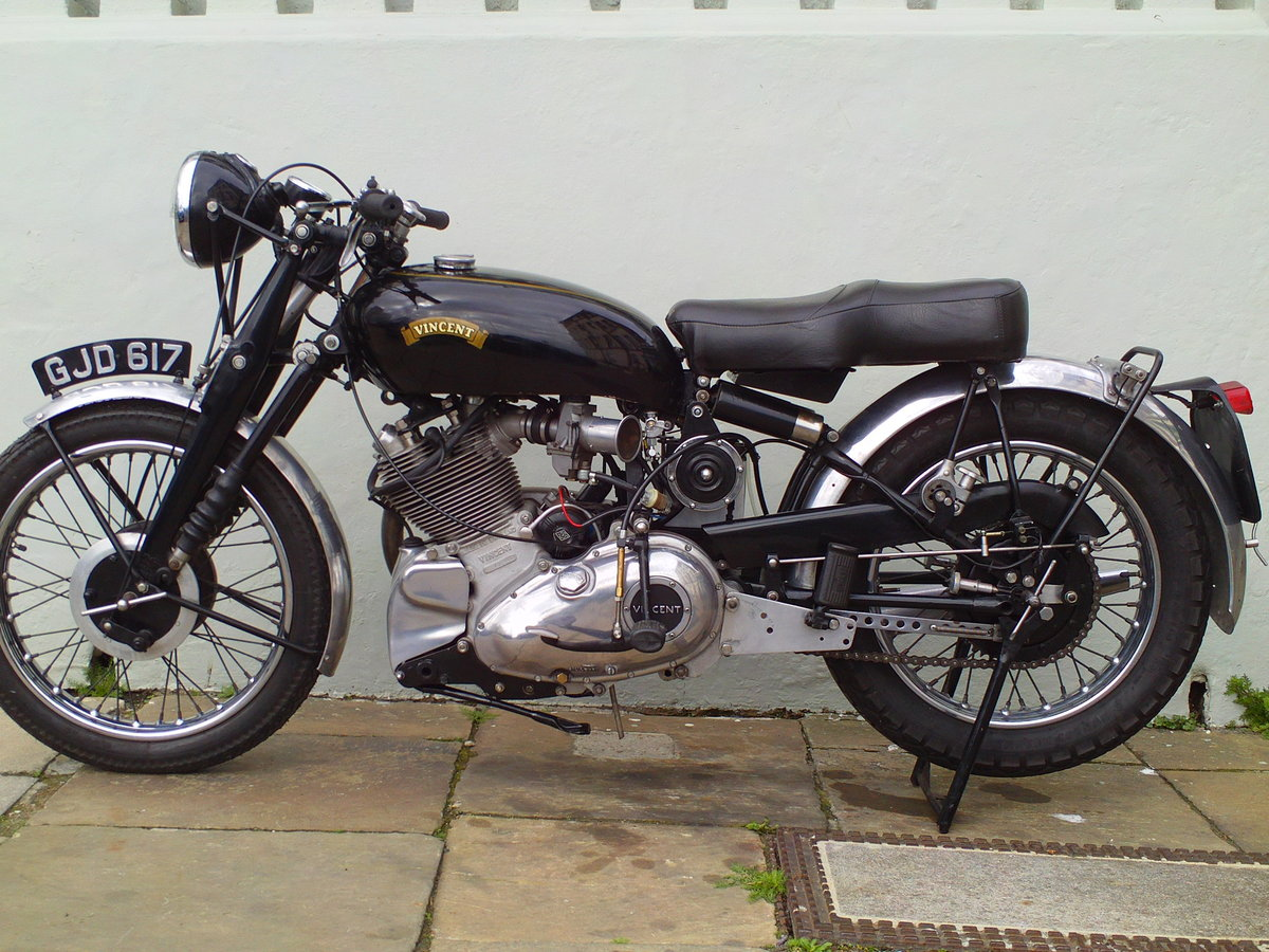1954 VINCENT RAPIDE COMET SOLD (picture 3 of 6)