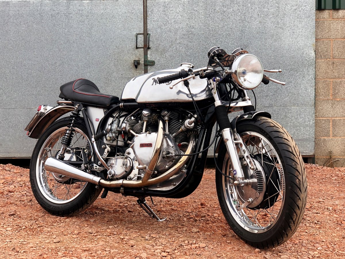 1952 NORVIN 1200cc With Racing History. Ultimate Cafe Racer! SOLD (picture 1 of 1)