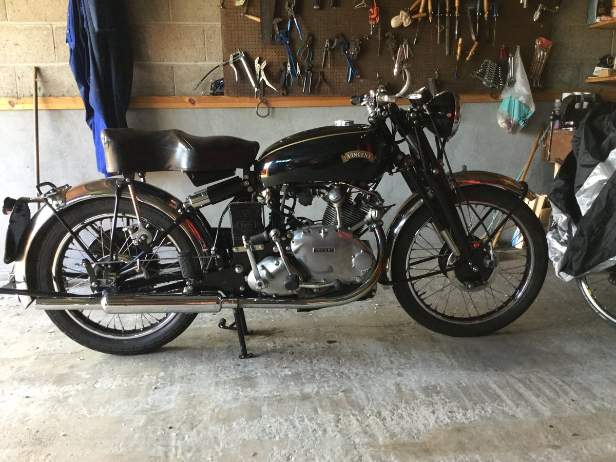 1951 Vincent Comet For Sale (picture 1 of 5)