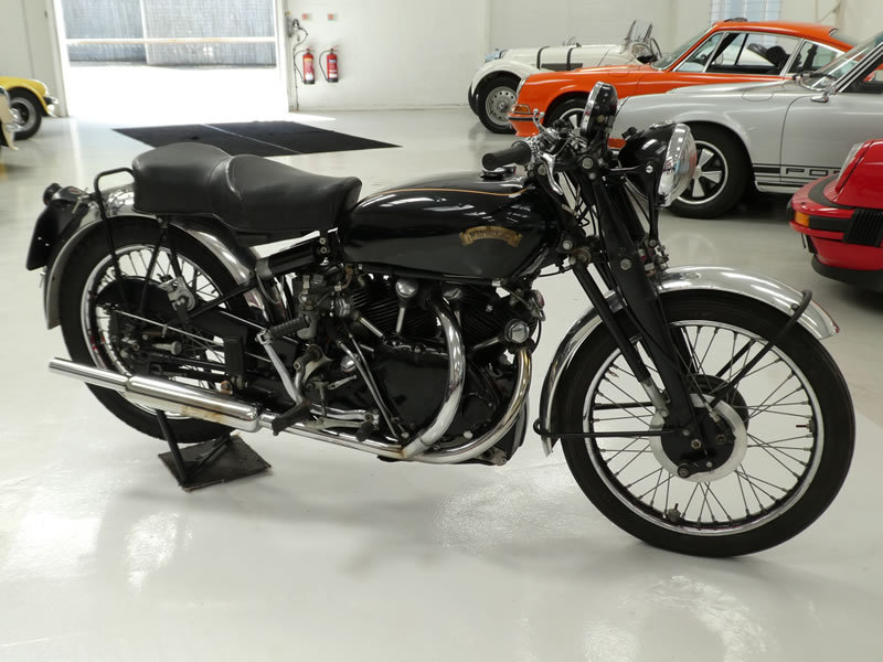 1949 Vincent Black Shadow Series C SOLD (picture 1 of 6)