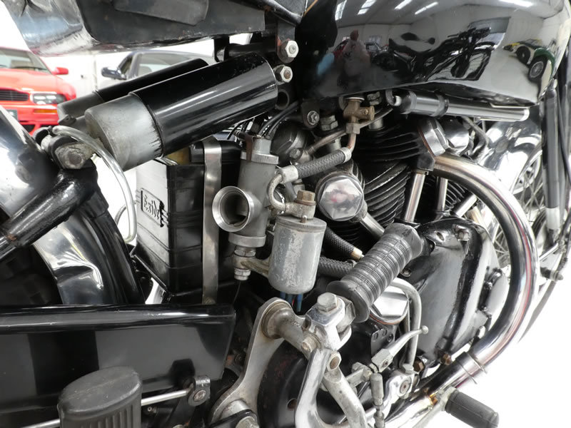 1949 Vincent Black Shadow Series C For Sale (picture 5 of 6)