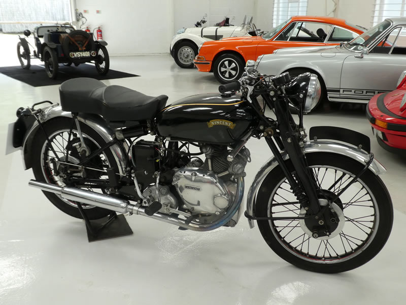 1951 Vincent Comet Series C SOLD (picture 1 of 6)