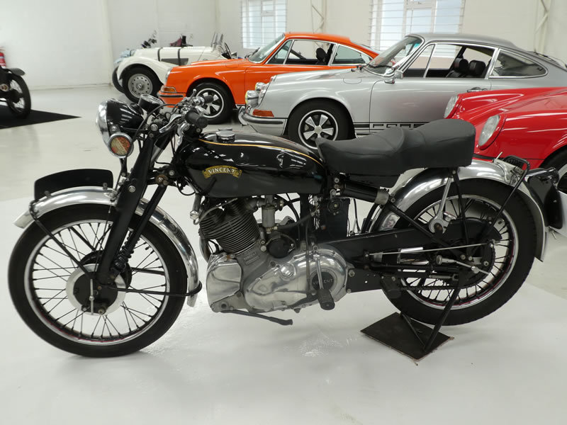 1951 Vincent Comet Series C SOLD (picture 2 of 6)