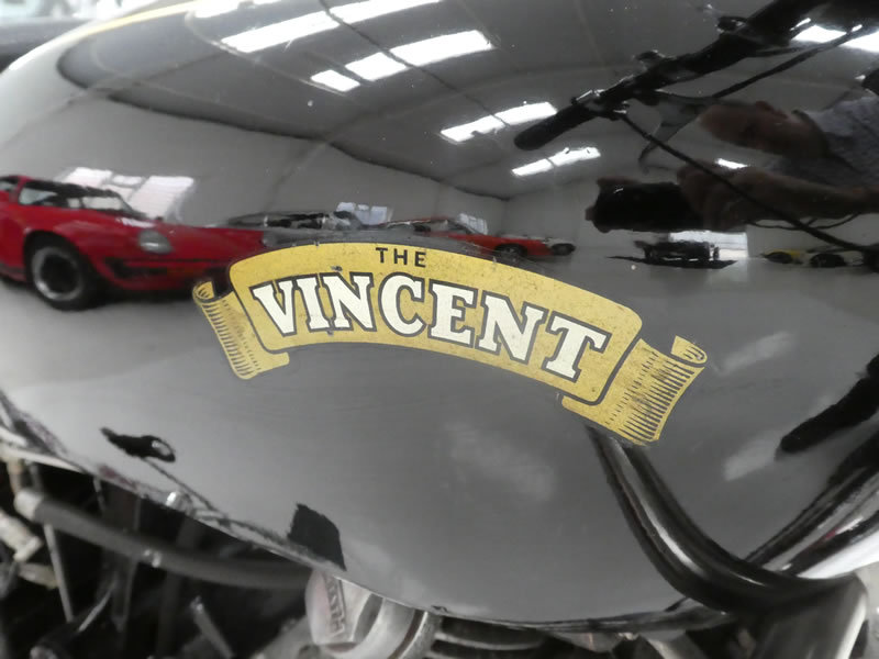 1951 Vincent Comet Series C SOLD (picture 3 of 6)