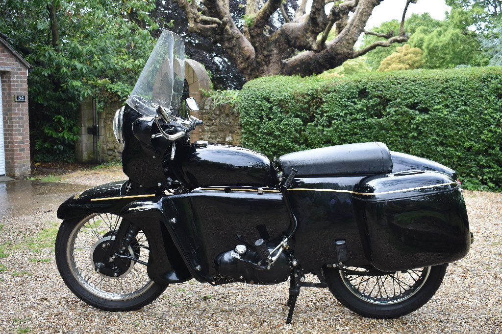 A 1956 Vincent Black Prince Series D - 10/08/2019 For Sale by Auction (picture 1 of 6)