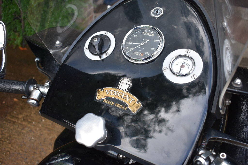 A 1956 Vincent Black Prince Series D - 10/08/2019 For Sale by Auction (picture 3 of 6)