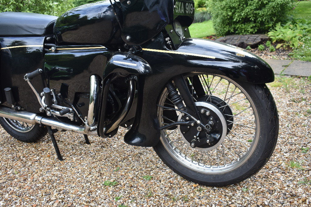 A 1956 Vincent Black Prince Series D - 10/08/2019 For Sale by Auction (picture 4 of 6)