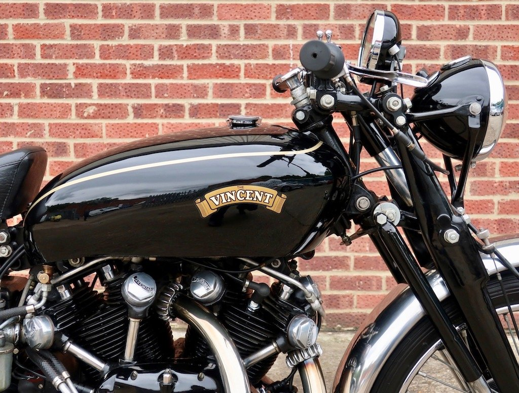 1951 Vincent Black Shadow For Sale (picture 2 of 6)
