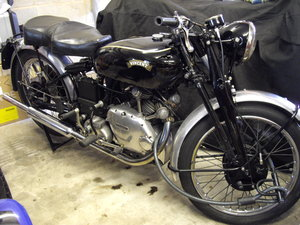 Vincent Comet and 1951 Comet engine and gearbox For Sale