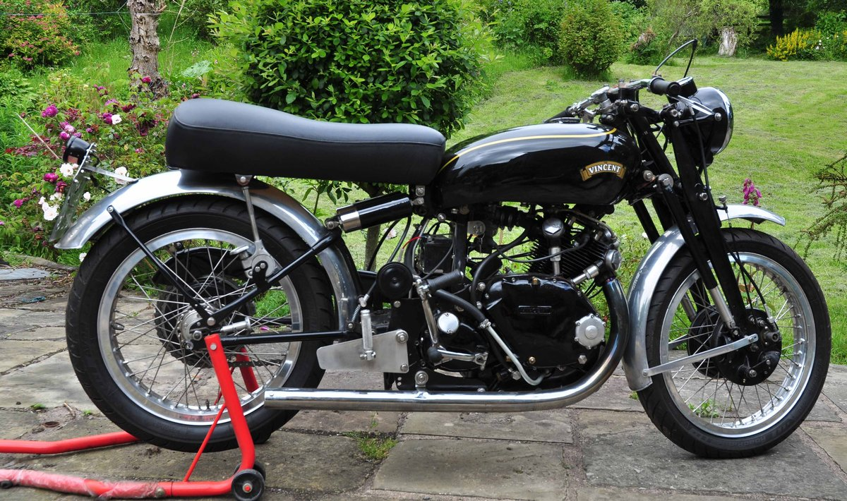 1953 Vincent Comet Big Bore For Sale (picture 1 of 4)
