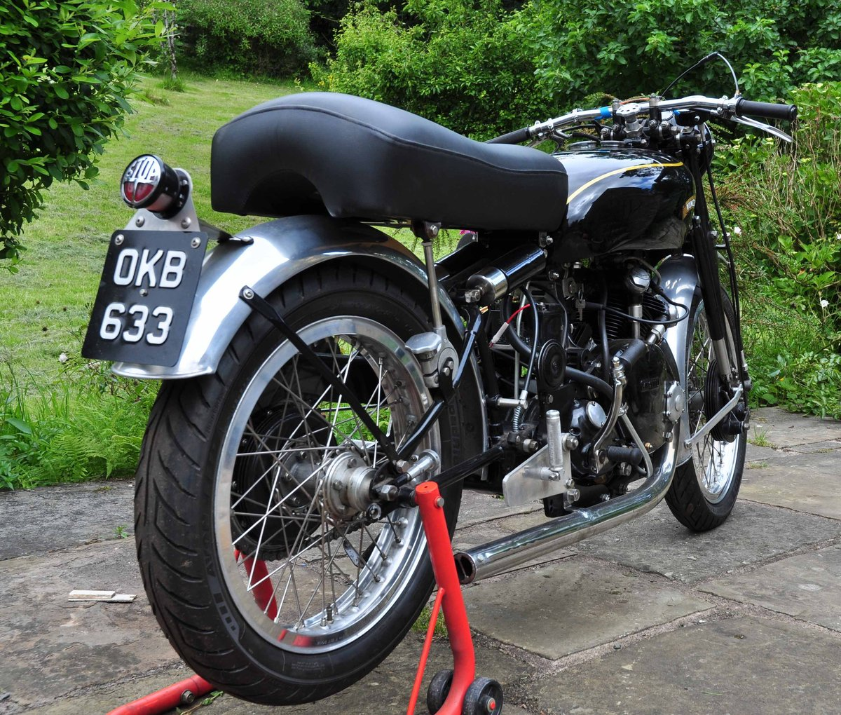 1953 Vincent Comet Big Bore For Sale (picture 2 of 4)