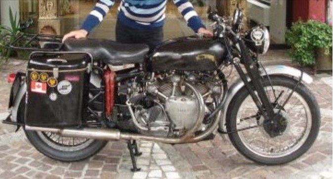 1948 Vincent Series B Rapide For Sale (picture 1 of 1)