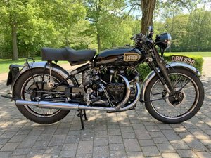 1949 Vincent Black Shadow Series C