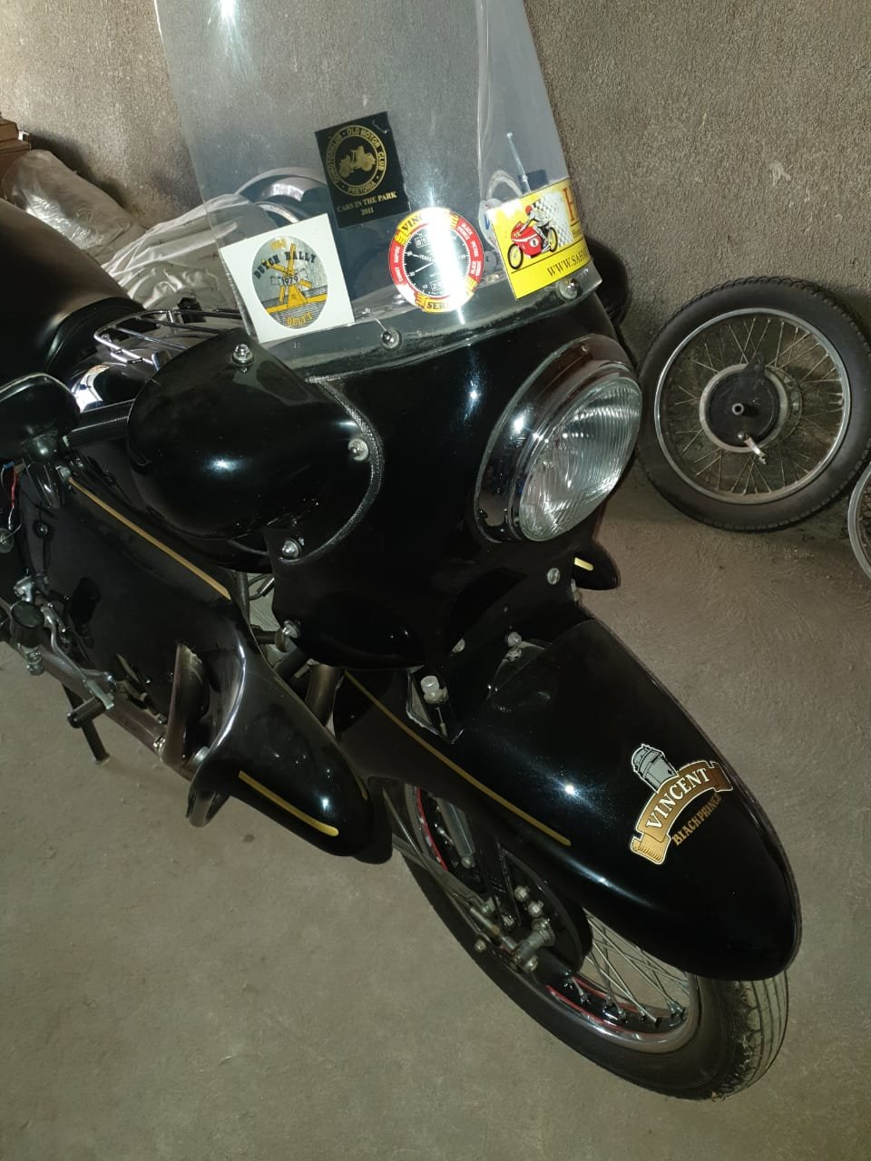 1955 Vincent Black Prince , 1 of 132 in the world For Sale (picture 3 of 6)