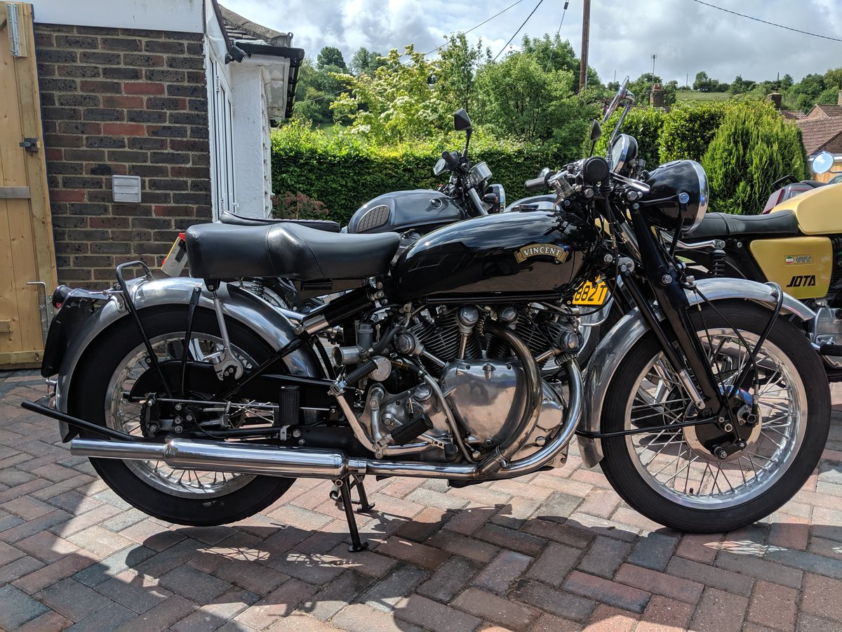 Vincent Series C Rapide 1950 SOLD (picture 1 of 6)