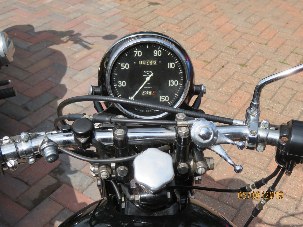Vincent Series C Rapide 1950 SOLD (picture 2 of 6)